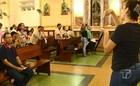 Missa é realizada com tradução em Libras (Reprodução/BDS)