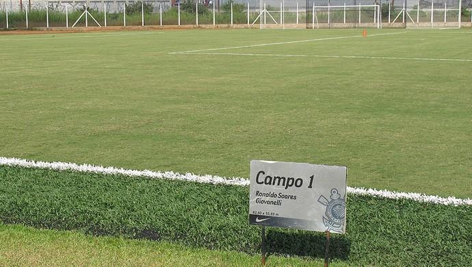 CT joaquim grava banheira sala campo 1 Ronaldo Soares Giovanelli (Foto: Carlos Augusto Ferrari / GLOBOESPORTE.COM)