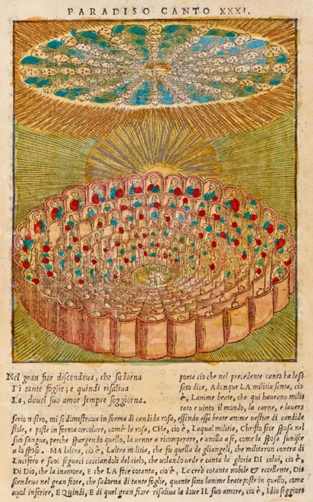 Arquivo digital reúne ilustrações históricas da Divina Comédia (Foto: Divulgação)