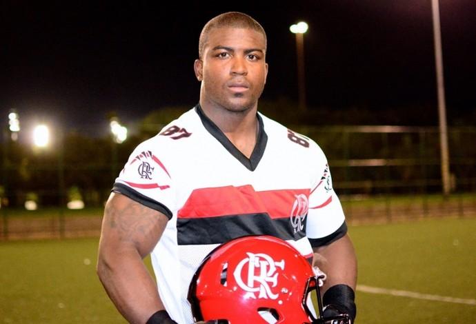 Yolandus Pratt Futebol Americano (Foto: Divulgação Flamengo)