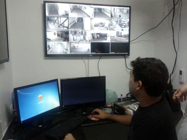 Serão instaladas 90 câmeras no Hospital Walfredo Gurgel (Foto: Marcelo Soares)