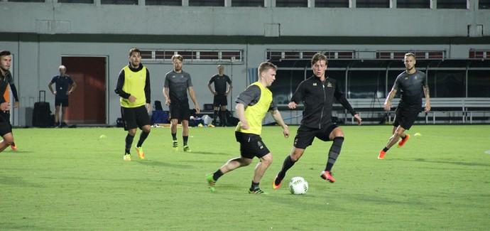 Suécia treina em Manaus  (Foto: Isabella Pina)