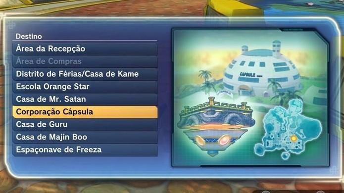 Dragon Ball Xenoverse 2: Vá até a Corporação Cápsula (Foto: Reprodução / Thomas Schulze)