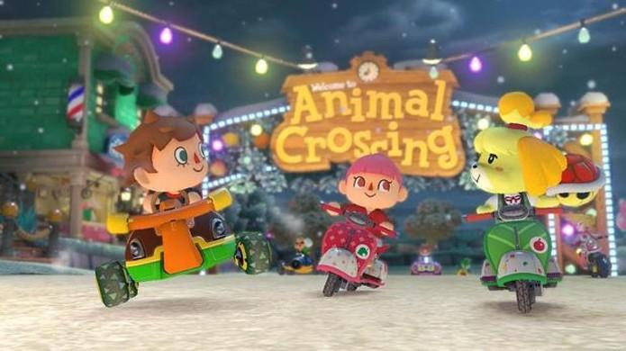 DLC Pack 2 de Mario Kart 8 para o Wii U terá temática de Animal Crossing (Foto: Reprodução/Digital Spy)
