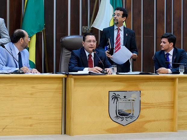 Votação aconteceu nesta terça-feira (27) na Assembleia Legislativa (Foto: João Gilberto/ALRN)