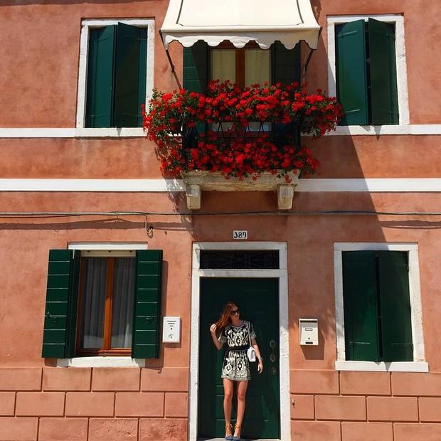 Marina Ruy Barbosa na Itália (Foto: Reprodução/ Instagram)