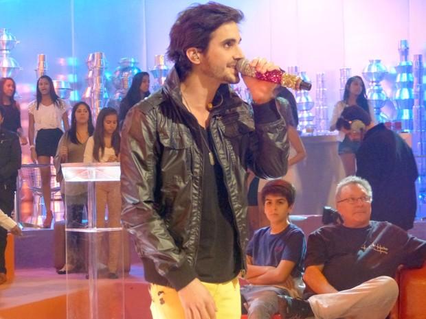 Fiuk é uma das atrações do programa de Dia dos Pais (Foto: Esquenta/TV Globo)