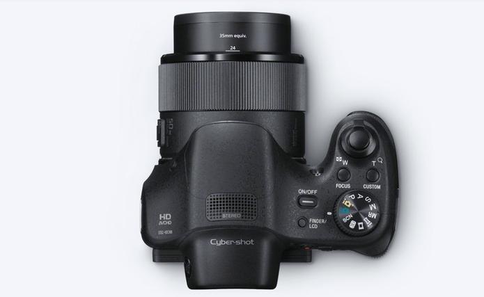 O superzoom da lente fixa da Sony HX300 (Foto: Divulgação/Sony)