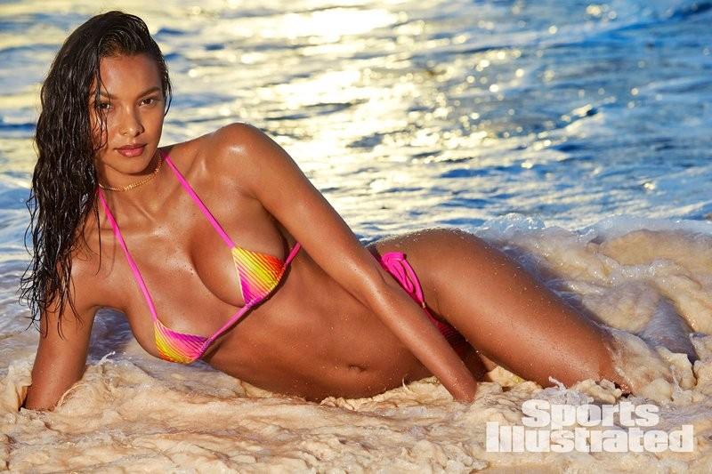 Lais Ribeiro é a estrela do Sports Illustrated Swimsuit 2018 (Foto: Reprodução/Instagram)