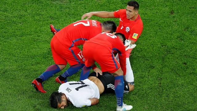 Chile x Alemanha - Copa das Confederações 2017 - globoesporte.com cbf3f56edf9c7