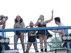 Daniela Mercury agita mais um dia do Carnaval de Salvador