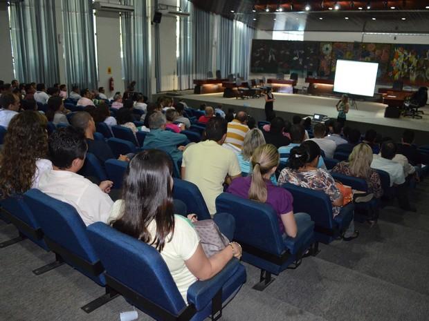 Reunião aconteceu na manhã desta sexta-feira (23), no  Fórum Advogado Sobral Pinto (Foto: Emily Costa/ G1 RR)