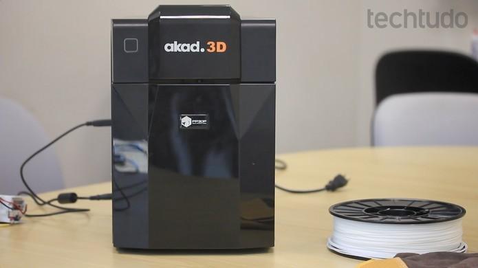 Modelo da Akad pesa 6kg (Foto: Divulgação/Akad)