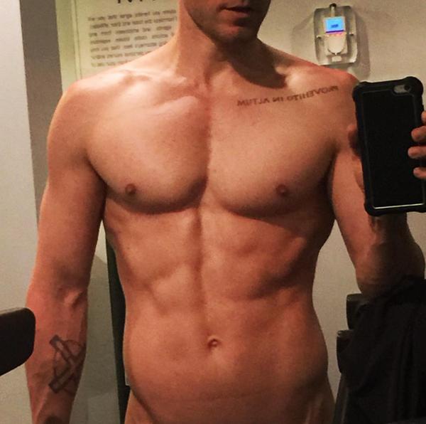 A slefie compartilhada pelo ator Jared Leto (Foto: Instagram)
