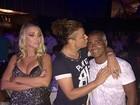 Romário comemora aniversário com a namorada, a cantora Dixie Pratt