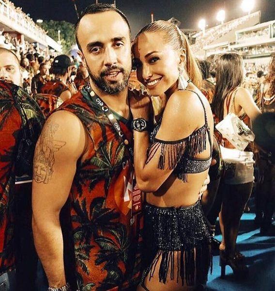 Yan Acioli e Sabrina Sato no Carnaval do Rio (Foto: Reprodução/Instagram)
