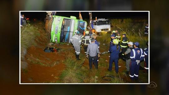 Preso motorista de ônibus argentino que deixou 3 mortos na BR-285, no RS