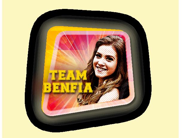 selo benfia (Foto: TV Globo / Malhação)