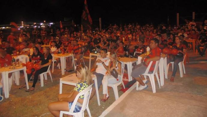 Torcida do FLA no Amapá se prepara para a estreia do time no Carioca 2014 (Foto: Divulgação/FLA Amapá)