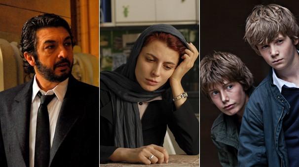O dinamarquês 'Em um Mundo Melhor', o iraniano 'A Separação' e o argentino 'O Segredo dos seus Olhos', vencedores do Oscar de melhor filme estrangeiro que a Globo exibe na semana da premiação (Foto: Divulgação)