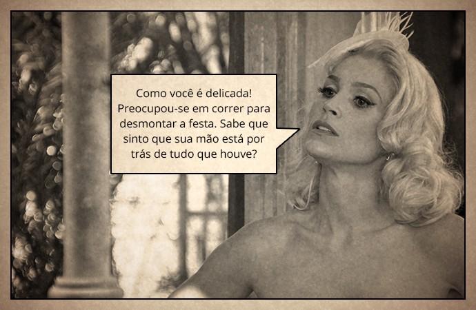 Sandra (Foto: TV Globo/ Thays Malcher/ Gshow)