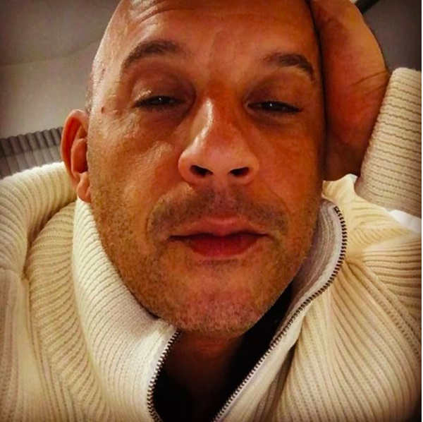 O ator Vin Diesel (Foto: Instagram)