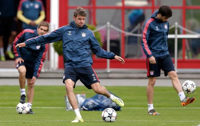 Treino Muller Bayern Munique (Foto: AP)