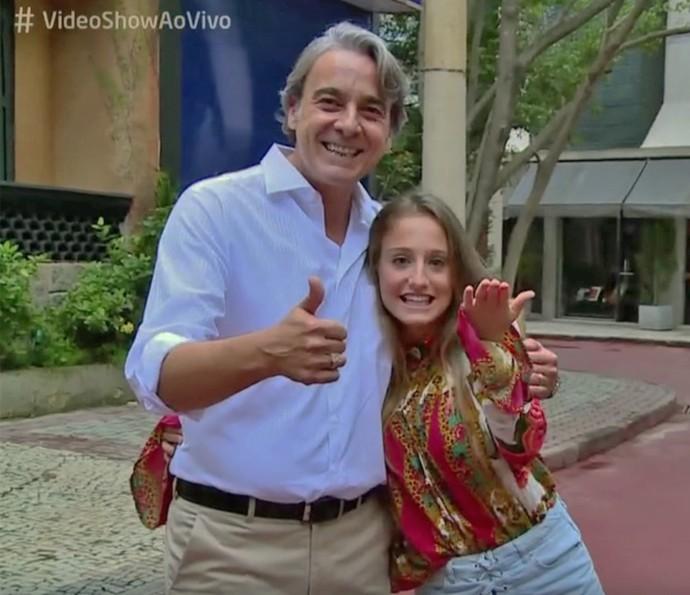 Alexandre Borges e Bruna Giphao falam de amizade surgida durante 'Avenida Brasil' (Foto: TV Globo)