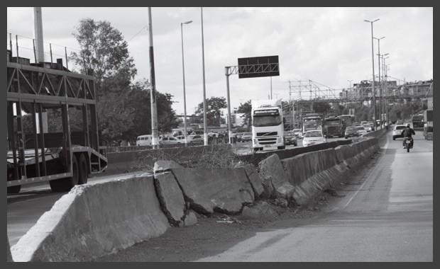 Os problemas e as falhas técnicas das rodovias brasileiras