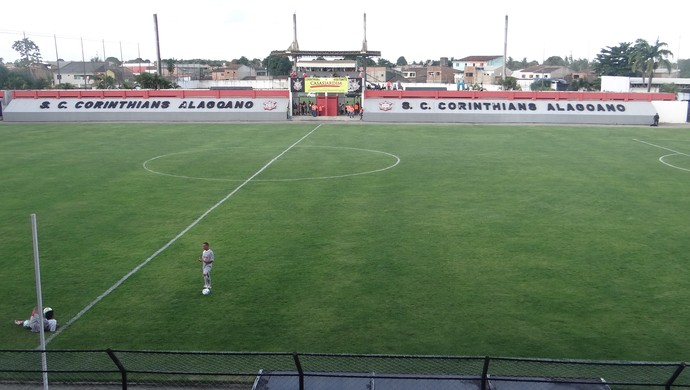 Estádio Nelson Peixoto Feijó - Nelsão (Foto: Leonardo Freire/GloboEsporte.com)