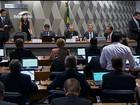Comissão no Senado aprova o relatório do impeachment de Dilma
