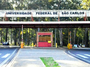 Fachada da UFSCar em São Carlos (Foto: Fabio Rodrigues/G1)