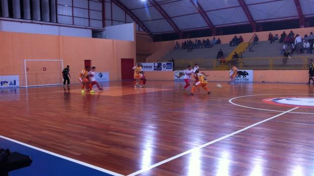 Piraí vence Três Rios por 9 a 0 pela Copa Rio Sul de Futsal (Foto: Priscila Chagas)