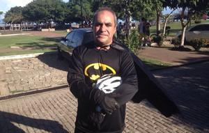 Alan Kardec, 50 anos, participa pela primeira vez do evento (Foto: Rafael Moreira/GE-AP)