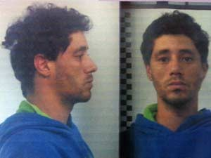 Tiago da Silva foi preso em flagrante (Foto: Reprodução/G1)