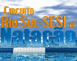 Circuito Rio Sul Sesi de natação (Foto: Reprodução: Tv Rio Sul)