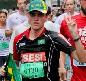 Gustavo Chavari Minha História (Foto: Editoria de Arte / Globoesporte.com)