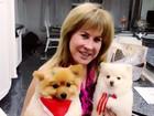 Zilu Camargo posta foto com seus cachorrinhos