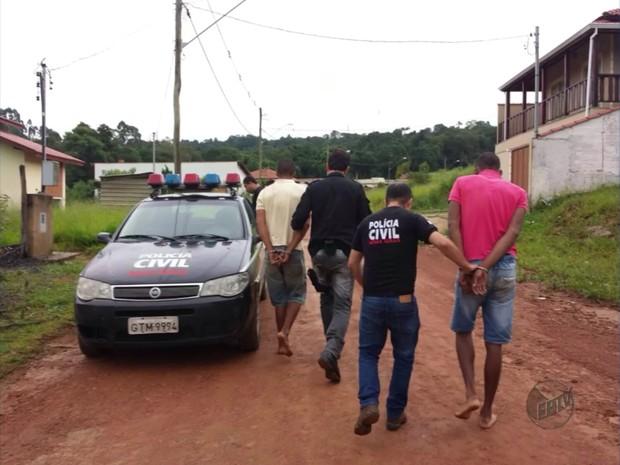 Acusados de matar adolescente vão a júri popular em Poços de Caldas (MG) (Foto: Reprodução EPTV)