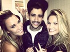 Marien posa com Gusttavo Lima e Andressa Suita e incentiva: 'Casa logo!'