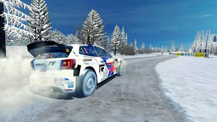 Game de corrida do campeonato oficial de Rally (Foto: Divulgação)