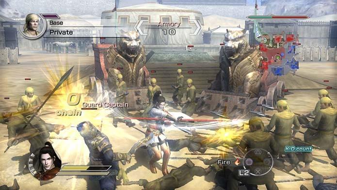 Dynasty Warriors (Foto: Reprodução)