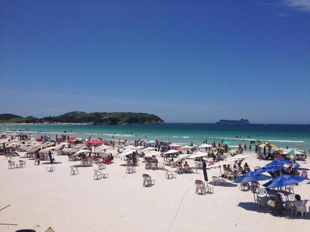 Verão deve ser mais quente que o esperado no interior do Estado do Rio (Foto: Rafael Quintão/ Inter TV Alto Litoral)