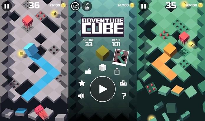 Adventure Cube é diversão sádica para quem gosta de desafio (Foto: Divulgação / Ketchapp)