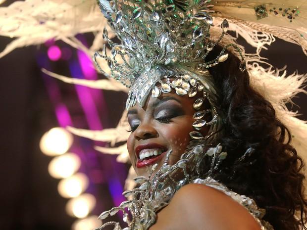 Deisiane Conceição, a segunda princesa do carnaval do Rio (Foto: Fernando Maia/Riotur/Divulgação)