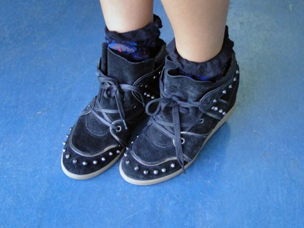 Sneakers: grande aposta para o inverno 2012! (Foto: Malhação / Tv Globo)