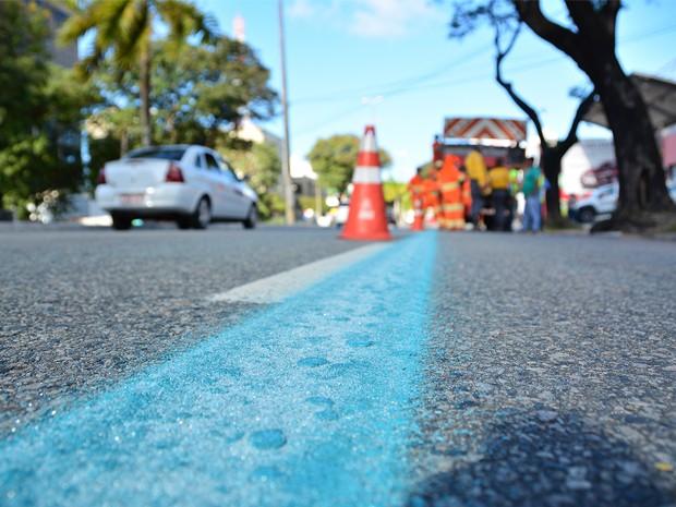 Faixas foram ampliadas de sete para doze quilômetros (Foto: Rafael Passos/Secom-JP)