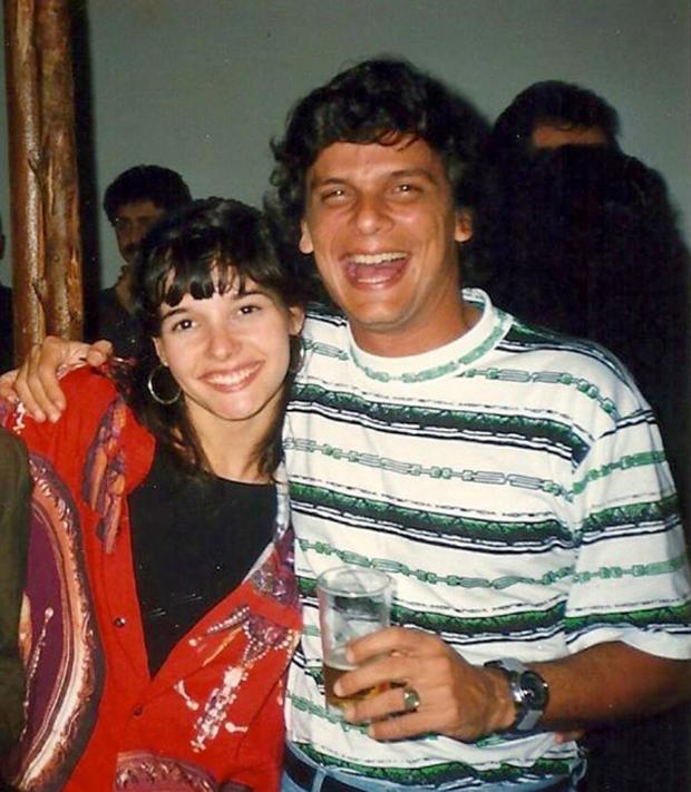Daniela Perez e Duda Ribeiro (Foto: Reprodução)