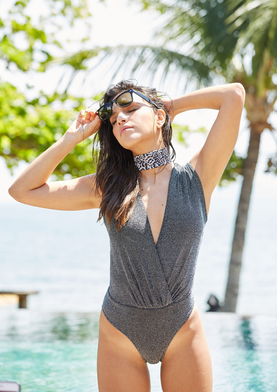 Marca de beachwear goiana apresenta nova coleção assinada por Mariana Rios (Foto: Reprodução)