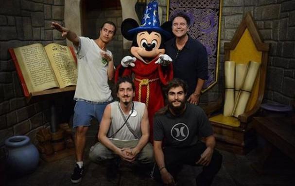 Rafa, Francisco Vitti e Jhonny Massaro (Foto: Reprodução/Instagram)